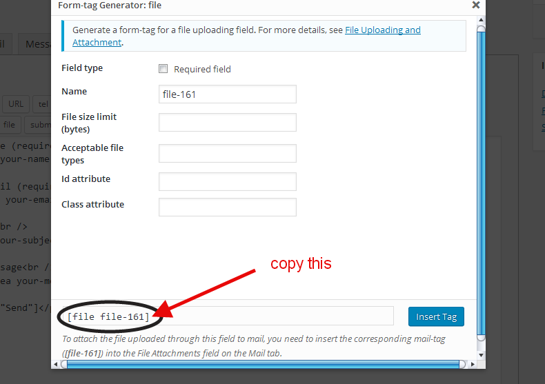 File Uploading in Contact Form 7