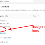 Menu Items Link Color: How to Change