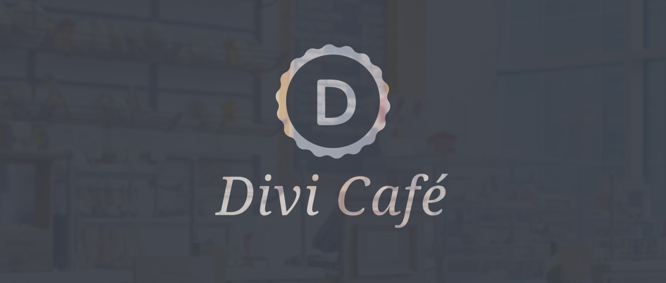 divi cafe demo header