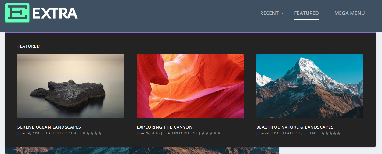 3 featured